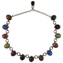 Buy Eclectica 1950s Miracle Multicoloured Glass Necklace Online at johnlewis.com