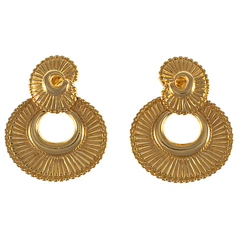 Buy Eclectica 1980s Monet Statement Clip On Earrings Online at johnlewis.com