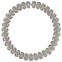 Buy Eclectica Vintage 1980s Chrome Link Necklace Online at johnlewis.com