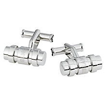 Buy Montblanc 3 Ring Sterling Silver Cufflinks Online at johnlewis.com
