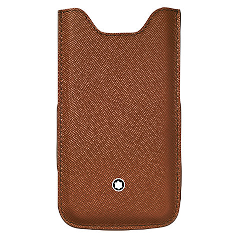Buy Montblanc Meisterstück Selection Calfskin Cover for iPhone 5 Online at johnlewis.com