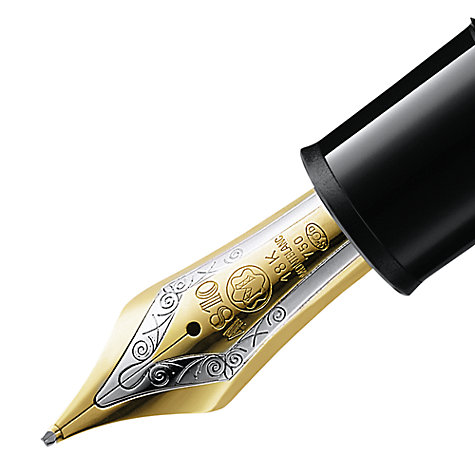 Buy Montblanc Meisterstück 149 Piston Fountain Pen, Black Online at johnlewis.com