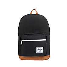Buy Herschel Pop Quiz Backpack, Black Online at johnlewis.com