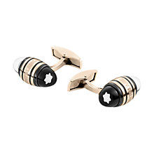 Buy Montblanc UrbanWalker Floating Star Emblem Stainless Steel Cufflinks, Gold Online at johnlewis.com