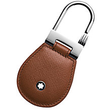 Buy Montblanc Meisterstück Selection Leather Keyring Online at johnlewis.com
