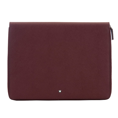 Buy Montblanc Meisterstück Selection Tablet Computer 3 Pouch with Zip Online at johnlewis.com