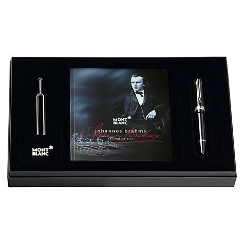 Buy Montblanc Johannes Brahms Special Edition Ballpoint Pen, Black Online at johnlewis.com