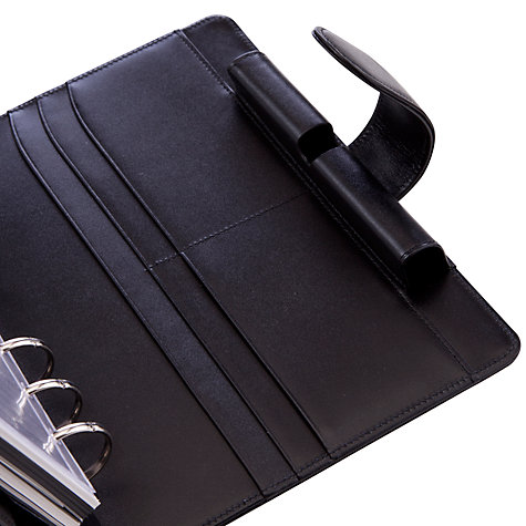 Buy Montblanc Medium Leather Organiser, Black Online at johnlewis.com