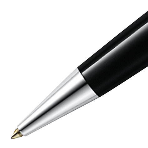 Buy Montblanc Meisterstück Platinum Line Classique Ballpoint Pen, Black Online at johnlewis.com