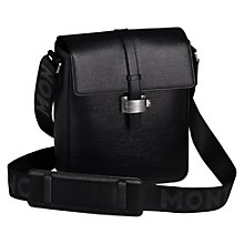 Buy Montblanc Westside North South Leather Shoulder Bag, Black Online at johnlewis.com
