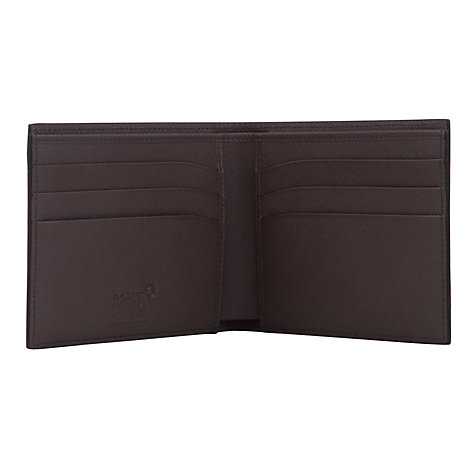 Buy Montblanc Meisterstück Leather 6 Card Wallet, Cognac Online at johnlewis.com