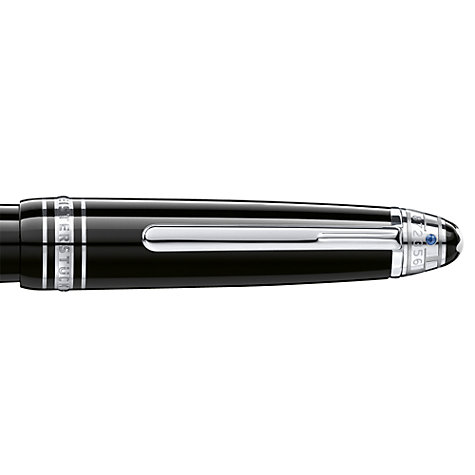 Buy Montblanc Meisterstück LeGrand Signature for Good Piston Fountain Pen, Black Online at johnlewis.com