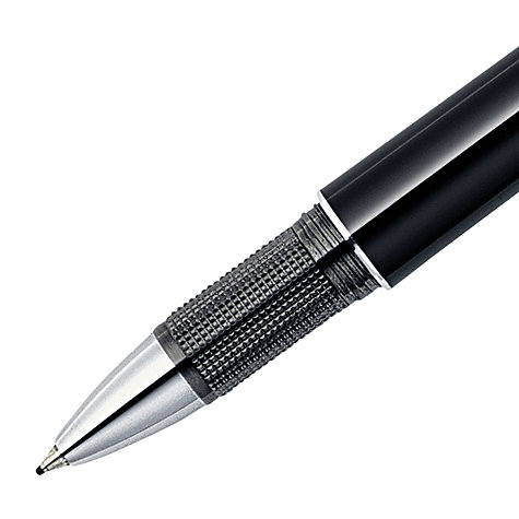 Buy Montblanc StarWalker Platinum Resin Fineliner Pen, Black Online at johnlewis.com