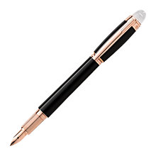 Buy Montblanc StarWalker Red Gold Resin Cartridge Fountain Pen, Black Online at johnlewis.com