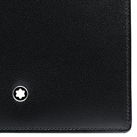 Buy Montblanc Meisterstück 6 Card and 2 View Pockets Leather Wallet, Black Online at johnlewis.com