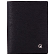 Buy Montblanc Westside Leather Multi Credit Card Holder, Black Online at johnlewis.com