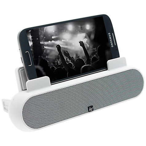 Buy KitSound Tablet and Smartphone Surround Sound Stand Online at johnlewis.com