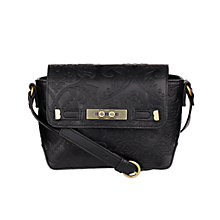 Buy Nica Sara Small Satchel, Black Online at johnlewis.com