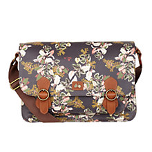 Buy Nica Hollie Large Satchel Handbag, Dark Vintage Botanic Online at johnlewis.com