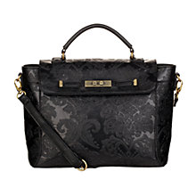 Buy Nica Sara Satchel, Black Online at johnlewis.com