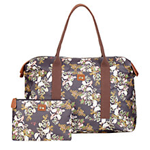 Buy Nica Christine Large Weekender Bag, Dark Vintage Botanic Online at johnlewis.com