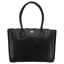 Buy O.S.P OSPREY The Remo Leather Work Bag, Black Online at johnlewis.com