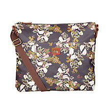 Buy Nica Play Michelle Messenger Bag, Dark Vintage Botanic Online at johnlewis.com
