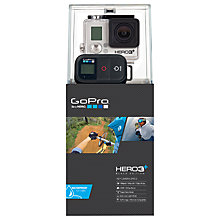 Buy GoPro Hero3+: Black Edition Camcorder, HD 4K, 12MP, Wi-Fi with Wireless Remote Online at johnlewis.com