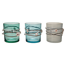 Buy Tealight Holder With Shells, Assorted Online at johnlewis.com