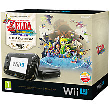 Buy Nintendo Wii U 32GB Premium Pack with The Legend of Zelda: The Wind Waker HD, Sensor Bar and Accessories, Black Online at johnlewis.com