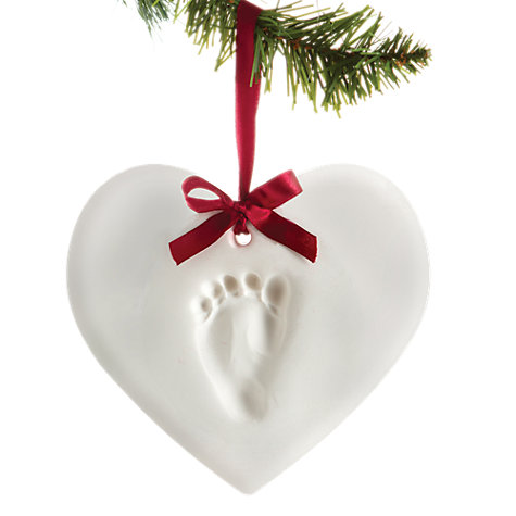 Buy Pearhead Heart Print Hanging Keepsake Online at johnlewis.com