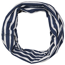 Buy Seasalt French Cotton Stripe Handyband, Navy Online at johnlewis.com