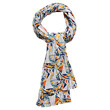 Buy Seasalt Millie Regatta Print Scarf, Multi Online at johnlewis.com