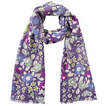 Buy Lola Rose Daisychain Print Wool Scarf Online at johnlewis.com