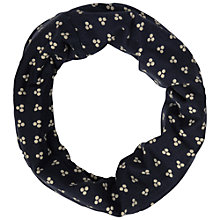 Buy Seasalt Dot Print Organic Cotton Handy Band, Navy Online at johnlewis.com