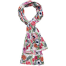 Buy Seasalt Floral Scarf, Multi Online at johnlewis.com