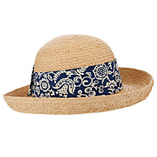 Buy John Lewis Garden Straw Hat, Natural Online at johnlewis.com