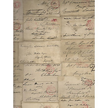 Buy Love Letter Parchment Wallpaper Online at johnlewis.com