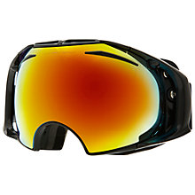 Buy Oakley Airbrake™ Snow Goggles, Black Online at johnlewis.com