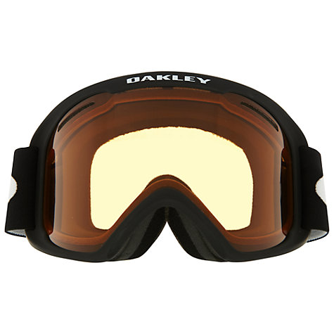 Buy Oakley O2™ Snow Goggles, Matte Black Online at johnlewis.com