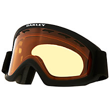 Buy Oakley O2™ XS Snow Goggles, Black/Gold Online at johnlewis.com