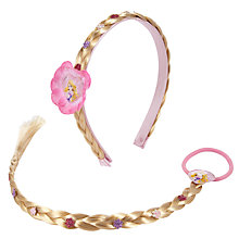 Buy Disney Princess Rapunzel Faux Hair Set Online at johnlewis.com