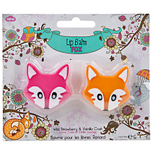 Buy Fox Lip Balms, Pack of 2, Multi Online at johnlewis.com