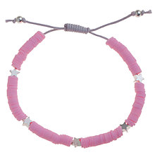 Buy Little Ella Laura Bracelet, Pink Online at johnlewis.com