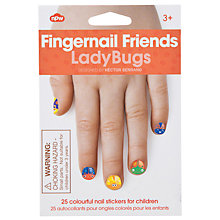 Buy Fingernail Friends: Ladybug Nail Decals, Multi Online at johnlewis.com