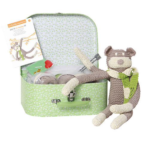Buy Knit-It Mr Monkey Knitting Kit Online at johnlewis.com