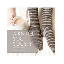 Buy A Knitted Sock Society by Rachel Coopey Knitting Book Online at johnlewis.com