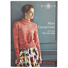Buy Rowan Mini Collection Knitting Pattern Booklet Online at johnlewis.com