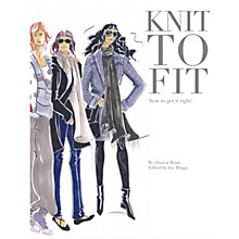 Buy Rowan Knit To Fit by Sharon Brant Knitting Book Online at johnlewis.com
