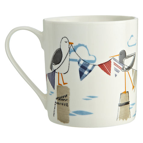 Buy John Lewis New England Seagulls Mug Online at johnlewis.com